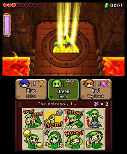 Nintendo The Legend of Zelda: Tri Force Heroes - 3