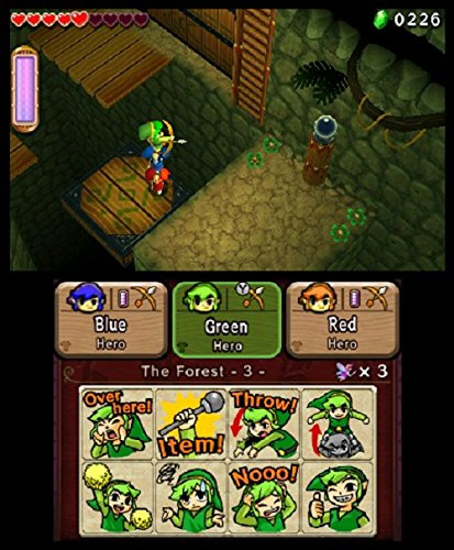 Nintendo The Legend of Zelda: Tri Force Heroes - 5