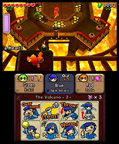 Nintendo The Legend of Zelda: Tri Force Heroes - 8
