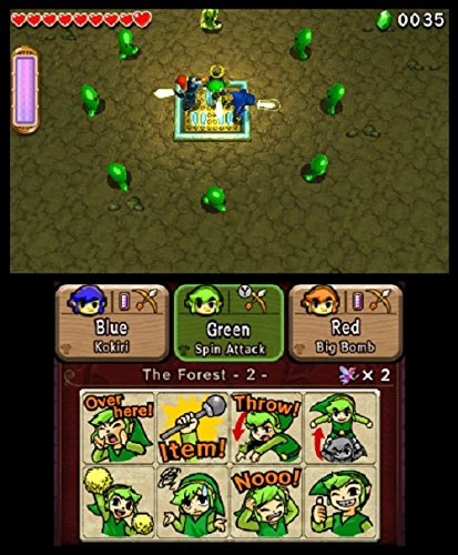 Nintendo The Legend of Zelda: Tri Force Heroes - 9