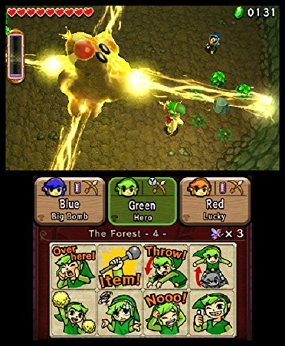 Nintendo The Legend of Zelda: Tri Force Heroes - 10