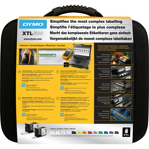 Dymo LabelManager 500 KIT - 12