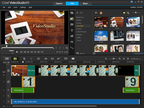 Corel VideoStudio X9 ULTIMATE - 3