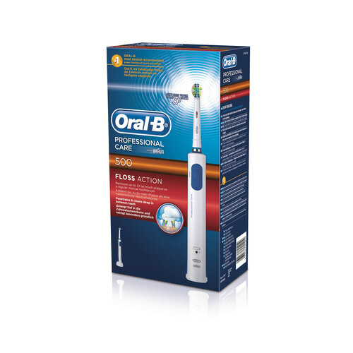Oral-B Professional Care 500 Floss Action #3