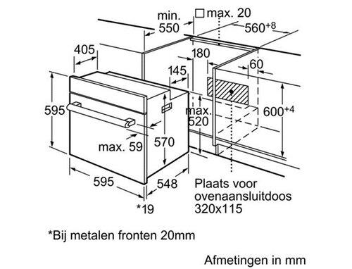 Bosch HBG33B530 - 2