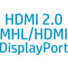 Con Display Port, HDMI MHL e HDMI 2.0 avrai tutte le porte necessarie per connettere facilmente il tuo dispositivo per l...