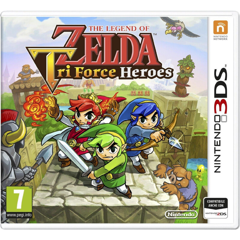 Nintendo The Legend of Zelda: Tri Force Heroes - 1