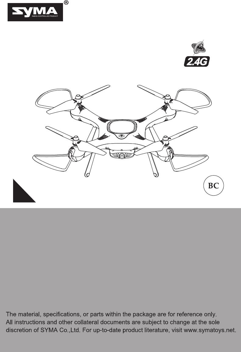 syma x25 pro manual pdf